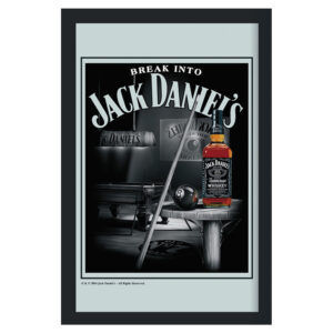 Jack Daniel's - Spegeltavla / Pubspegel / Barspegel - Pool table