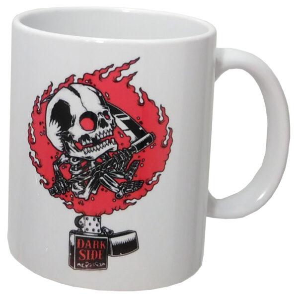Darkside - Mugg - Zippo Skull