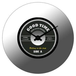 Agora -Väggklocka - Spegel - Good Time