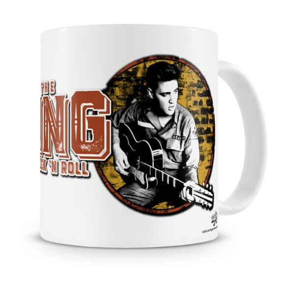Elvis Presley - Mugg - King Of Rock 'n Roll