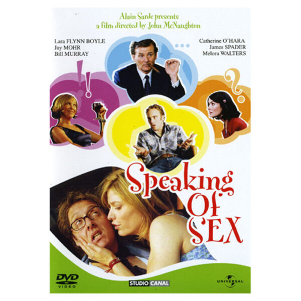 DVD - Speaking of Sex - Komedi med James Spader, Melora Walters, Jay Mohr