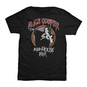 Alice Cooper - T-shirt - Mad House Rock