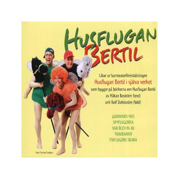 CD - Husflugan Bertil i själva verket - Barnteater