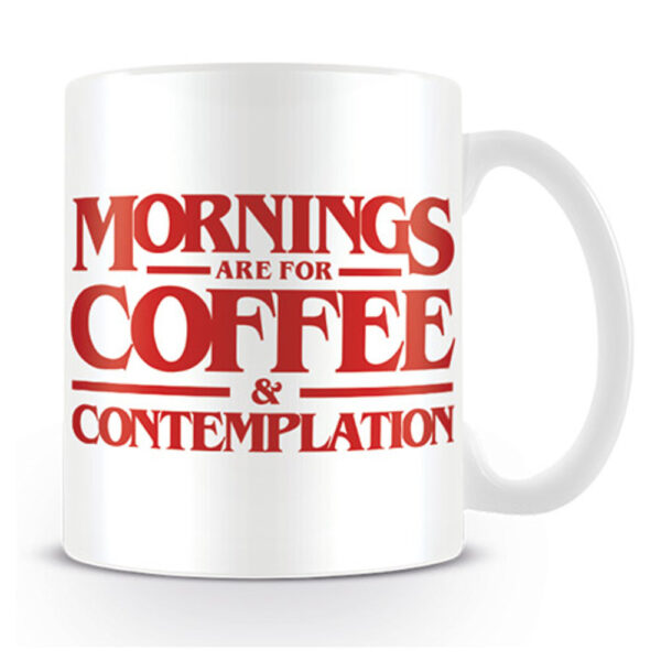 Stranger Things - Mugg - Coffee and Contemplation
