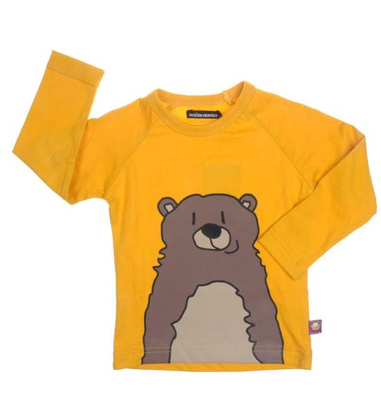 Design Heroes - Barntröja - Grizzlybjörn
