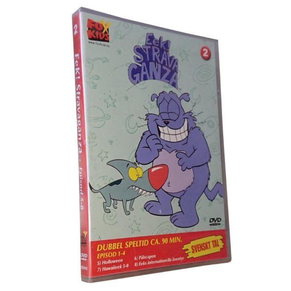 Eek! Strava Ganza - Vol 2: Del 5-8 - DVD