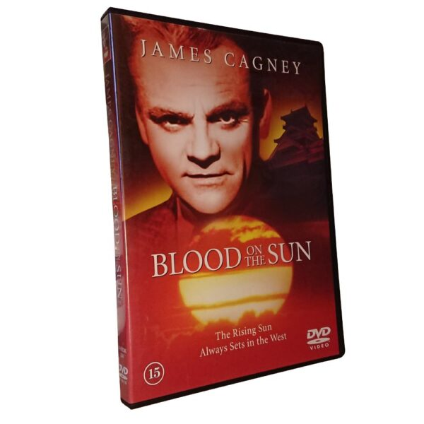 Blood On The Sun - DVD - Thriller - James Cagney