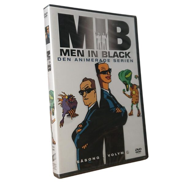Men In Black - Säsong 1 Volym 2 -DVD - Animerad barnfilm