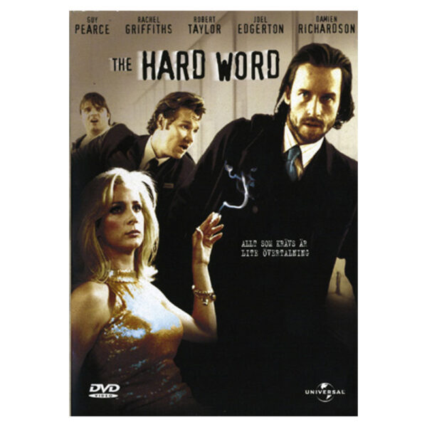 The Hard Word (DVD) Actionkomedi med Guy Pearce