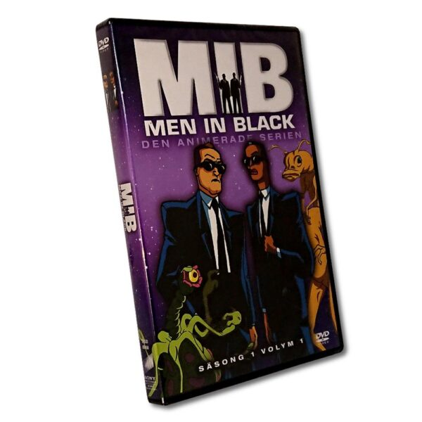 Men In Black - Säsong 1 Volym 1 - DVD - Den animerade serien