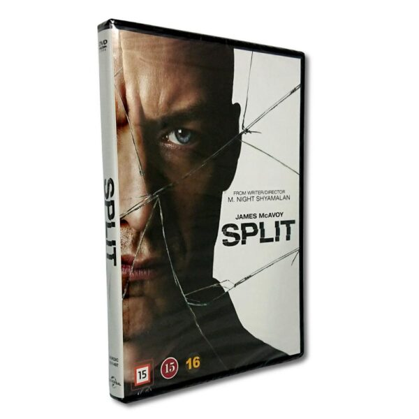 Split - DVD - Thriller - James McAvoy