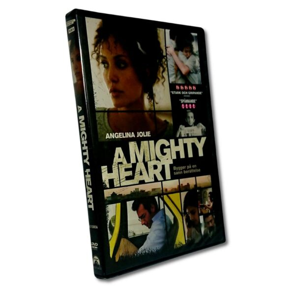 A Mighty Heart - DVD - Thrillerdrama med Angelina Jolie