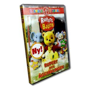 Rupert Björn - DVD - Rupert och äggtävlingen
