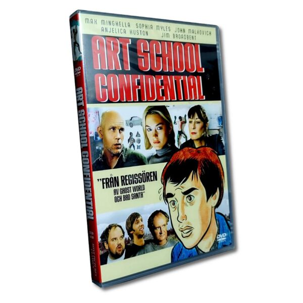 Art School Confidential - DVD - Komedi - Max Minghella