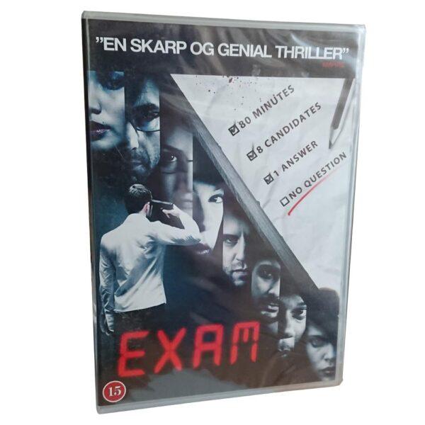 Exam - DVD - Thriller - Gemma Chan - Danskt omslag