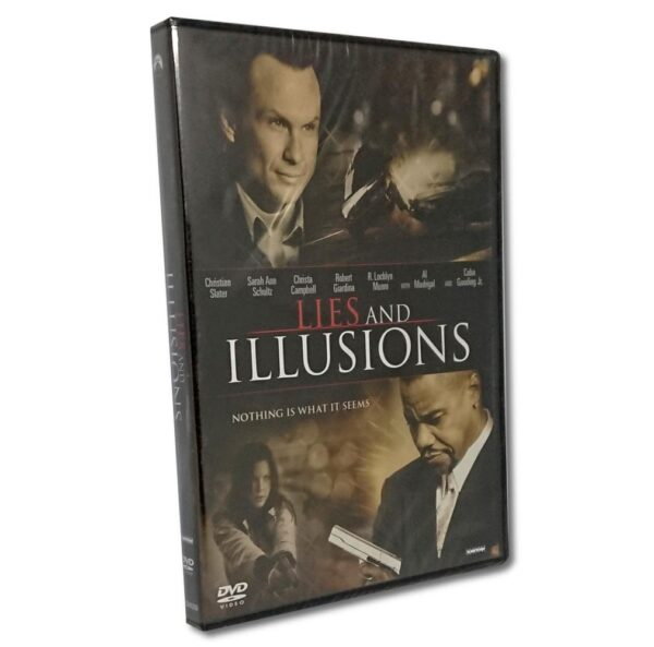 Lies and Illusion - DVD - Action - Christian Slater