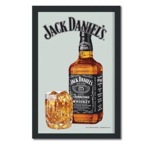 Jack Daniel's - Spegeltavla / Pubspegel / Barspegel - Bottle