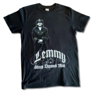 Lemmy - T-shirt - Sharp Dressed Man