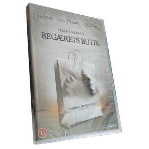 Köplust - DVD - Thriller - Ed Harris - Danskt omslag