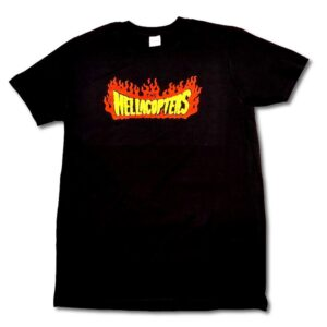 Hellacopters - T-shirt - Flames Logo
