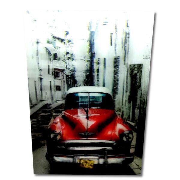 Inter - 3D-Tavla - 1950-tals bil