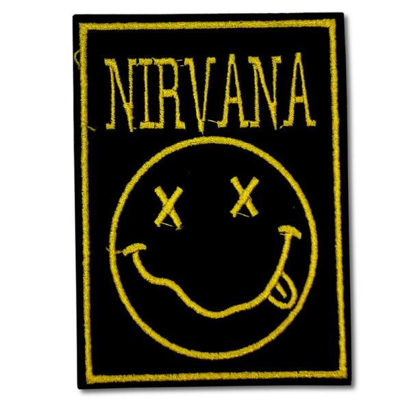 Nirvana - Tygmärke - Smiley