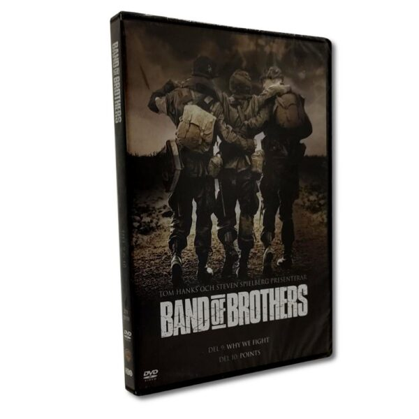 Band of Brothers: Del 9-10 - DVD - Krigsserie - Kirk Acevedo