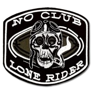 Tygmärke - No Club - Lone Rider