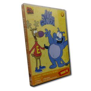 Eek! Strava Ganza - Vol 1: Del 1-4 - DVD - Tecknad barnfilm