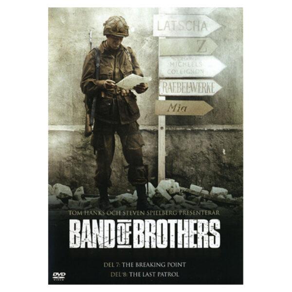 Band of Brothers: Del 7-8 - DVD - Krigsserie med Kirk Acevedo