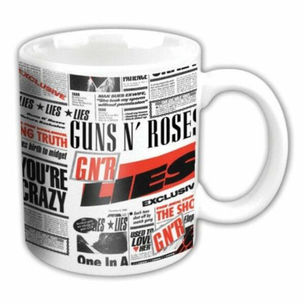 Guns N' Roses - Mugg - Lies