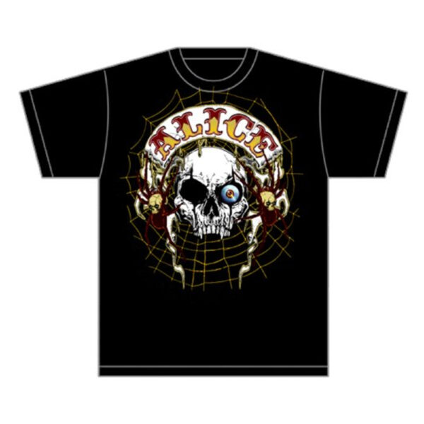 Alice Cooper - T-Shirt - Band Back Patch