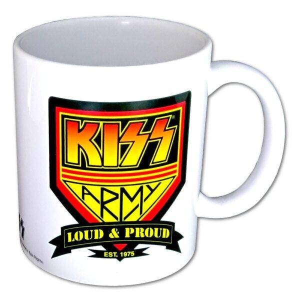 Kiss - Mugg - Army