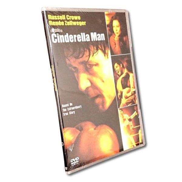 Cinderella Man - DVD - Drama - Russell Crowe - Slim Case