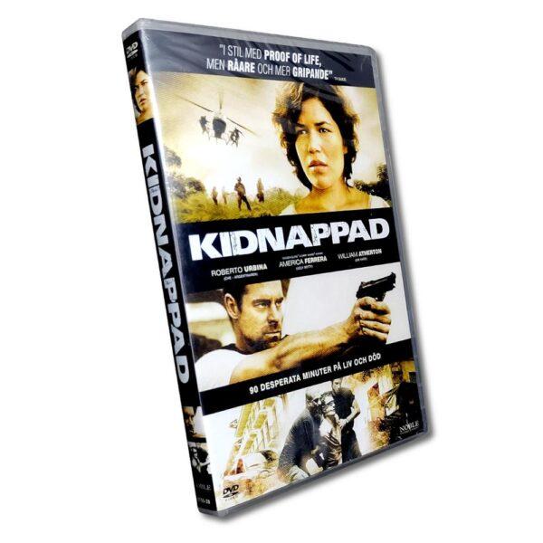 Kidnappad - DVD - Thriller med Roberto Urbina