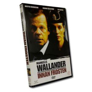 Wallander: Innan Frosten - DVD - Thriller - Krister Henriksson