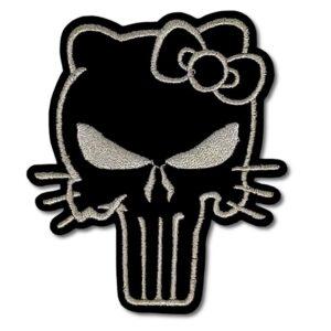 Tygmärke - Hello Kitty Punisher