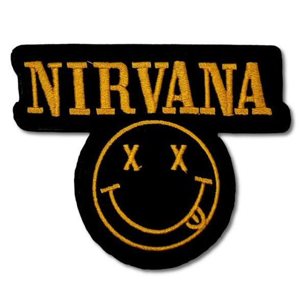 Nirvana - Tygmärke - Smiley