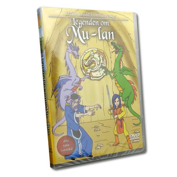 Legenden Om Mulan - DVD - Tecknad barnfilm
