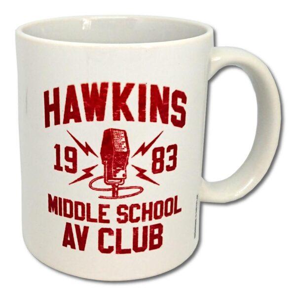 Stranger Things - Mugg - Hawkins AV Club