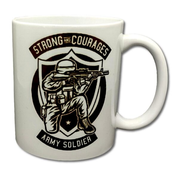 Roach - Mugg - Strong and Courages - Army Soldier
